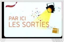 CD5676  CARTE CADEAU  A VOIR  FRANCE - Cartes Cadeaux