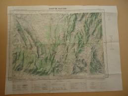 Carte De France - Vaucluse - Sault-de-Vaucluse  - Feuille XXXII-41 -1958 - Type 1922 - Echelle 1/50.000 - Cartes Topographiques