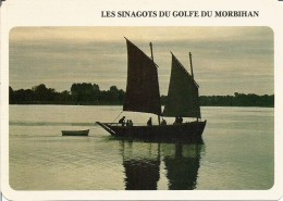 "CP - GOLFE DU MORBIHAN ( Morbihan ) "" Les Sinagots "" - Autres Communes"