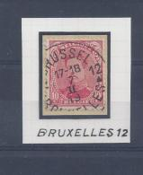 N°138 GESTEMPELD Bruxelles 12 SUPERBE - 1915-1920 Albert I