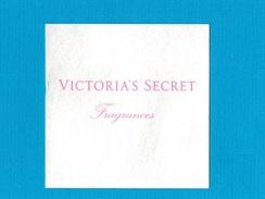 Cartes Parfumées  CARTE VICTORIA´S SECRET FRAGRANCES - Modern (from 1961)