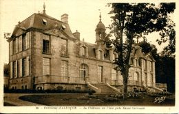 N°279 G -cpa Le Château De L'Isle Près Saint Germain- Alençon- - Francia