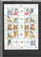 1996 MNH Mongolia, Sheet - Summer 1996: Atlanta