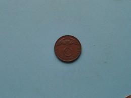 1939 E - 2 Reichspfennig / KM 90 ( Uncleaned Coin / For Grade, Please See Photo ) !! - [ 4] 1933-1945 : Third Reich