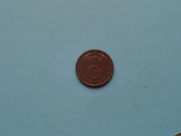1940 A - 2 Reichspfennig / KM 90 ( Uncleaned Coin / For Grade, Please See Photo ) !! - [ 4] 1933-1945 : Third Reich