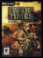 PC War Times European Frontline - Jeux PC