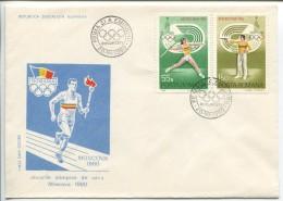 Sports, FDC,1980 - Ete 1980: Moscou