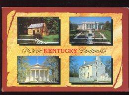 CPM Etats Unis Historic KENTUCKY Landmarks Multi Vues - Etats-Unis
