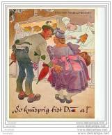 PRIX EN BAISSE !!! SO KNUSPRIG BIST DU A GRUB VOM OKTOBERFEFT MUNCHENER BILDKUNSTVERLAG AUGUST LENGAUER MUNCHEN - Humor