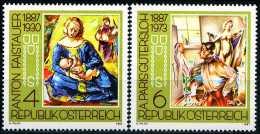 Österreich - Michel  1874 / 1875 - ** Postfrisch (D) - Gemälde A.Faistauer Und A.Paris-Gütersloh - 1945-.... 2ª República