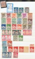 Collection ALGERIE - MAROC - TUNISIE Neufs **/* Et Obl.  Dans Classeur 25 Scans - Collections