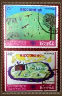 PAKISTAN USED STAMPS ( ROUND CANCELLATION)
