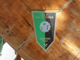 Flags OKR Dul Ostrava CSSR - Pubblicitari