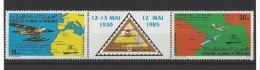 MAURITANIE . YT PA 235A  Neuf **  55e Anniversaire De La 1re Traversée Commerciale De L'atlantique-Sud  1985 - Madagascar (1960-...)