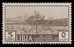 Libia - 13^ Fiera Di Tripoli: 5 C. Bruno Oliva (veduta Di Un Terreno Coltivato) - 1939 - Libia