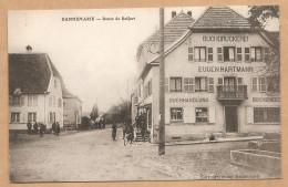 DANNEMARIE -- Route De Belfort - Voyagée 1915 - Dannemarie