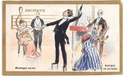 CHROMO - MUSIQUE EN ACTIONS - ANIMATO - Chromos
