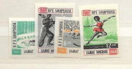 1963 MNH Albania Imperf. Postfris** - Albanie