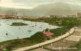 ISLE OF MAN - RAMSEY - MOORAGH PARK AND LAKE Iom100 - Isle Of Man
