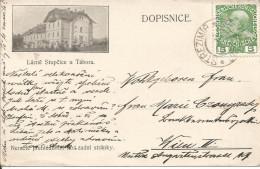 1910 - STUPCICE U TABORA, Gute Zustand, 2 Scans - Tchéquie