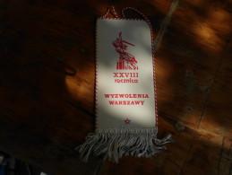 Flags Warszawa Styczen 1973 Miedzynarodowy Turniej Szermierczy - Escrime