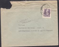 España 1939. Carta De Valladolid A Chicago. Censura. - Marcas De Censura Nacional