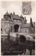 N° 380 / Carte BRUGGE 3 A 18 VIII 1934   Bruges Porte D' Ostende - Belgien