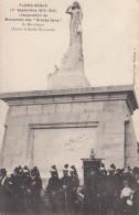 """Floing - 1er Sept 1870 - 1910 - Inauguration Du Monument Des """"Braves Gens"""" -Le Monument, œuvre D'Emile Guillaume - Autres Communes"""