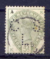 Great Britain Nr.78 K-A      O  Used      (654) Perfin: CSL - Oblitérés