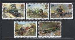GREAT BRITAIN 1985 - TRAINS - STEAM LOCOMOTIVES - MNH - No % On Payment - Trains
