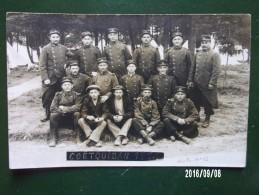 Camp De Coëquidan - Soldats Des 41e, 70e, 71e RI - War 1914-18