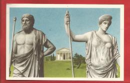 """BELGIQUE - Histoire Du Peuple Belge -  Dieux Romains  -  Collection """"Nos Gloires """"  - CHROM0 - 2 Scans - Belgien"""
