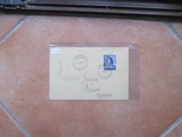 4.8.1949 USO Singolo ISOLATO Comm.Lorenzo Il Magnifico L.20 Timbro Arrivo Al Verso 1°giorno Tariffa - 6. 1946-.. Republic