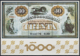 Brasil 1976 HB-37 Nuevo - Blocks & Sheetlets