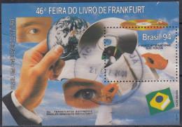 Brasil 1994 HB-93 Usado - Blocks & Sheetlets