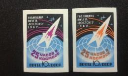 RUSSIA 1962 MNH (**)YVERT 2545-2546 SPACE - Ungebraucht