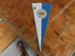Flags DFV Deutscher Fussball Verband Der DDR With Badge - Fussball