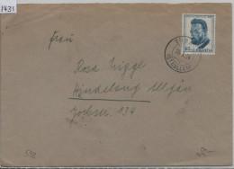 1953 Pro Juventute Hodler J152 592 Brief Von Tübach Nach Hindelang Allgäu - Pro Juventute