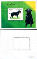 83613) Angola-1998-fauna- Cani -BF-42-nuovo-cat-8 Euro - Angola