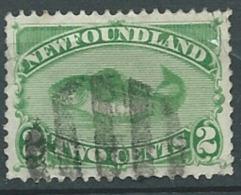 Terre Neuve N°36 Oblitere    - Abc15910 - 1865-1902