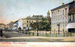 RRR! GÖTEBORG - Västra Hamgatan, Mit 2 + 5 Ö Marke Gel.1922 Von Marsjo? > Wien, Transportspuren S.Scan - Schweden