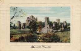 HAARLEM - The Old Castle, 1 Cent Marke, Gel.1909 V.Haarlem > Arnhem, Transportspuren - Haarlem