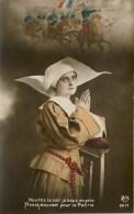 CARTE PATRIOTIQUE FRANÇAISE - GUERRE 14-18 - PROTÉGEZ NOS SOLDATS (n°1) - Guerre 1914-18
