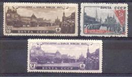 Russia 1946, Michel Nr 1011-13, MLH OG - 1923-1991 USSR