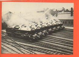Chemin De Fer - Trains - Seven Engines At Swindon 1930 - Gares - Avec Trains