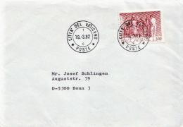 Postal History Cover: Vatican Cover - Vaticano