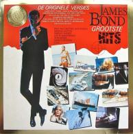 * LP *  JAMES BOND GROOTSTE HITS - VARIOUS ARTISTS (Holland 1981 EX!!!) - Filmmuziek