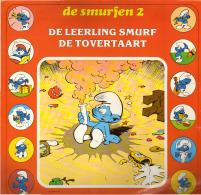 * LP *  DE SMURFEN 2: DE LEERLING SMURF / DE TOVERTAART (on Blue Vinyl) - Kinderen
