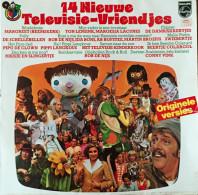 * LP *  14 NIEUWE TELEVISIE-VRIENDJES (Holland 1973) - Kinderen