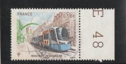 FRANCE 2011 TRAM TRAIN DE MULHOUSE OBLITERE YT 4530 - France